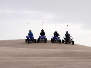 Mit dem Quad durch die Wste