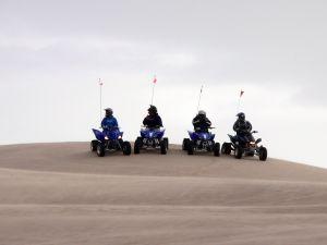 Mit dem Quad durch die Wüste